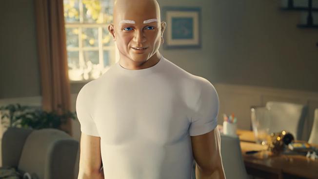 Mr. Clean Will seduce con su habilidad de limpieza en su reciente spot para el Super Bowl