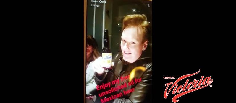 Conan O´Brien apoya a Cerveza Victoria