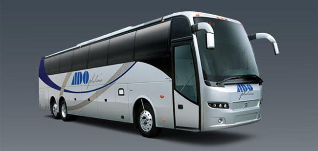 ADO echa la casa por la ventana para el lanzamiento de sus nuevos autobuses de lujo