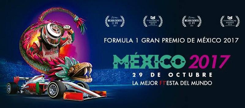 La ilustración corporativa del Gran Premio México 2017 no es ni cursi ni paya, sino lo que le sigue: es charroca