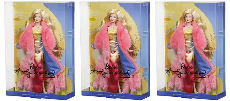 Andy Warhol Barbie edición 2017 llega a México