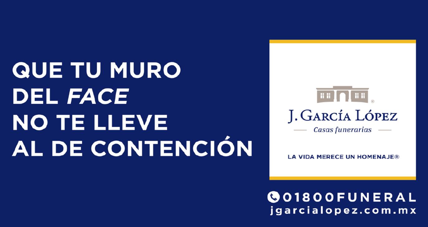 Compromiso social y amor por la vida, el enfoque de la campaña de J. García López