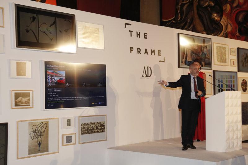 """Samsung presenta en México """"The Frame"""": más que una TV, una obra de arte"""