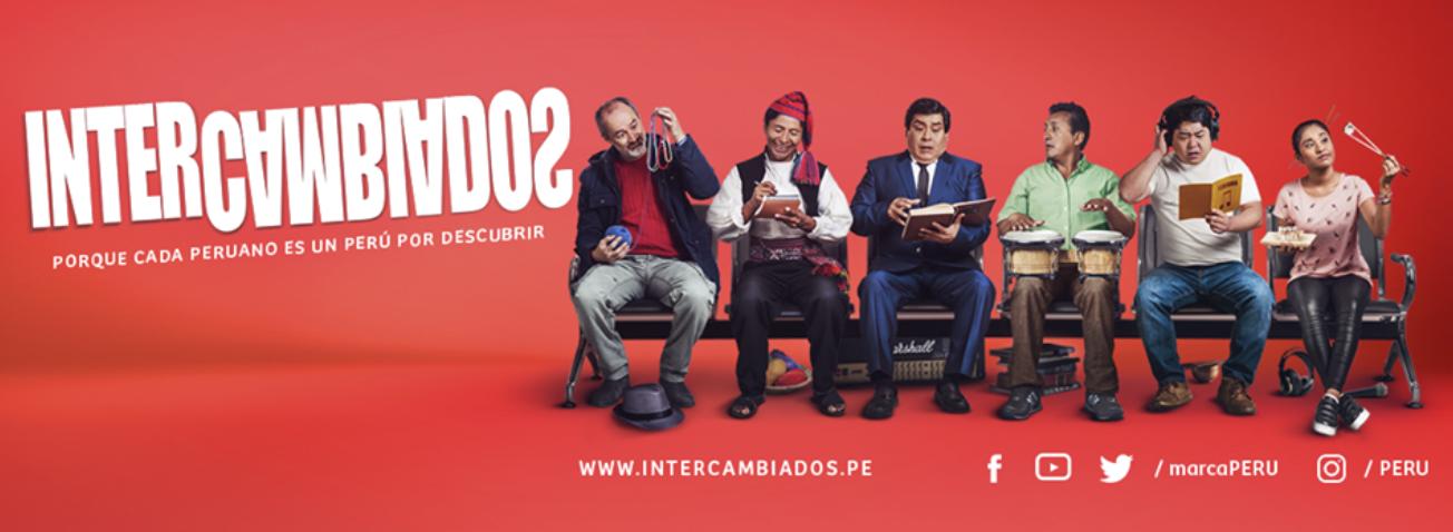 """Marca Perú lanzó """"Intercambiados"""", su sexta campaña publicitaria"""