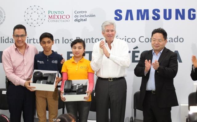 Samsung México y la SCT comprometidas con la educación digital