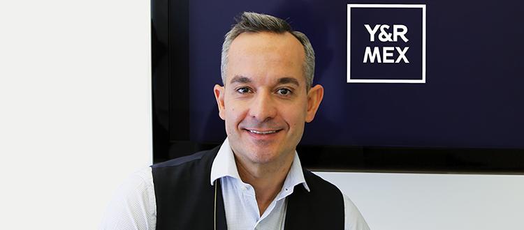 Alfonso Borreguero se une a Y&R México como Vp de Planeación Estratégica