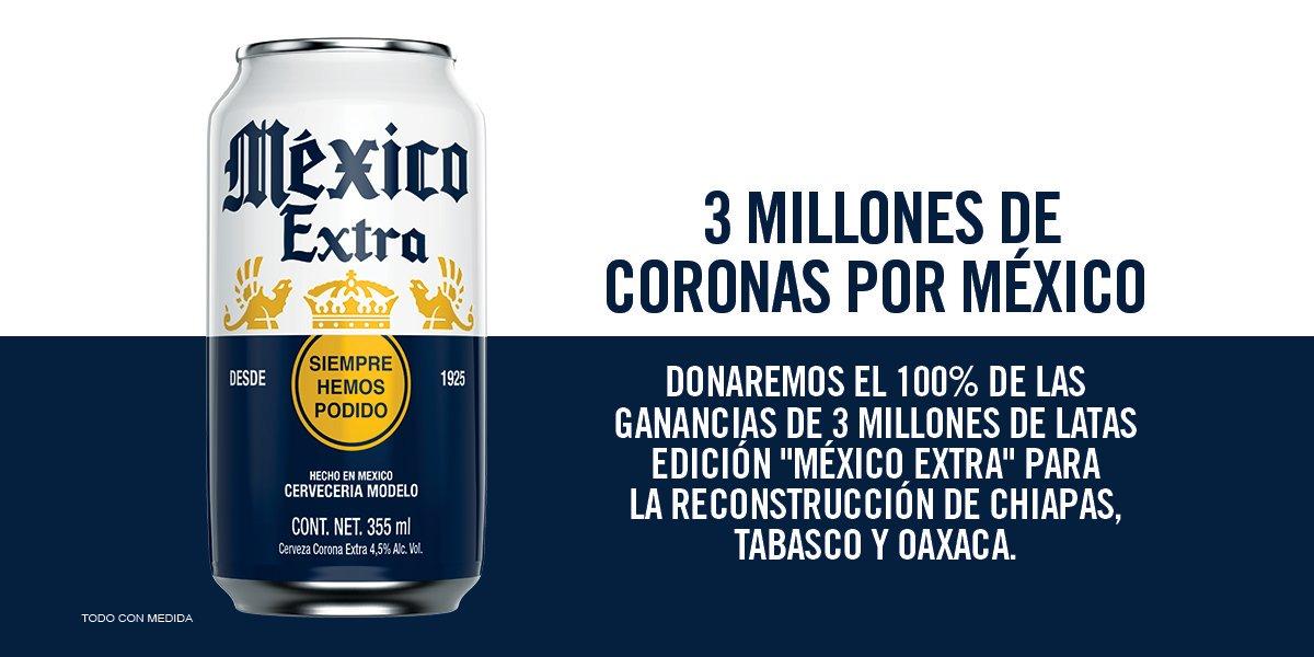 3 millones de Coronas por México