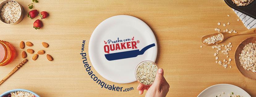 """Quaker lanza concurso digital """"Prueba con Quaker"""""""