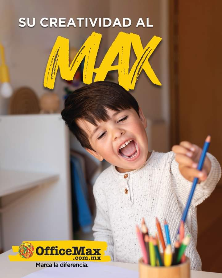 OfficeMax invita a las personas a dar su MÁXimo con nueva campaña