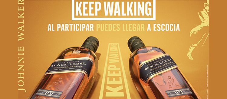 """Johnnie Walker presenta """"Walk with Johnnie"""": iniciativa junto con Sebastián Yatra, que inspira a disfrutar la vida al máximo"""