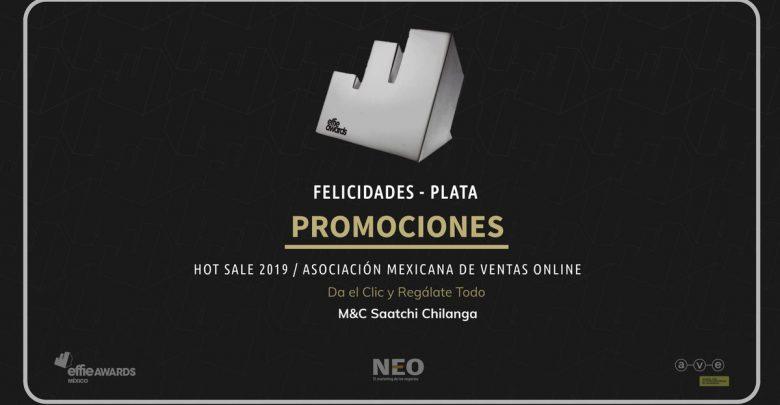 M&C SAATCHILANGA gana Effie para su cliente AMVO (Asociación Mexicana de Venta Online)