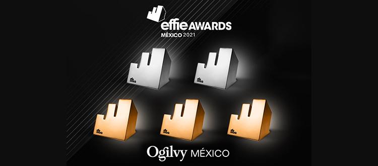Ogilvy México obtuvo dos platas y tres bronces en los Effie Awards 2021