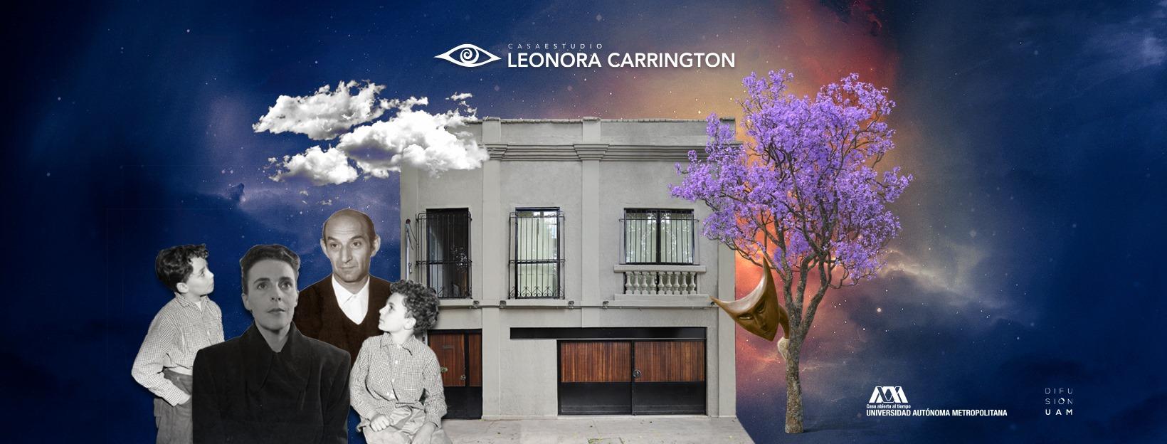 Excelente sitio web en La Casa de Leonora Carrington