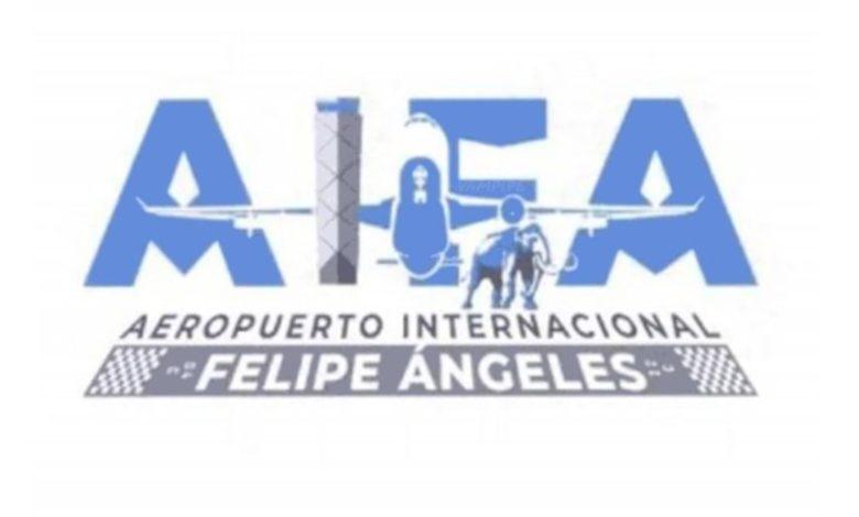 Atentados gráficos para el Aeropuerto Internacional Felipe Ángeles (AIFA) de México