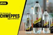 Schweppes lanza su nueva agua mineral de manantial