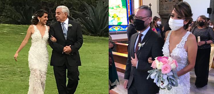 Cumplen, por fin, Daniela y Cristian su anhelo de casarse.