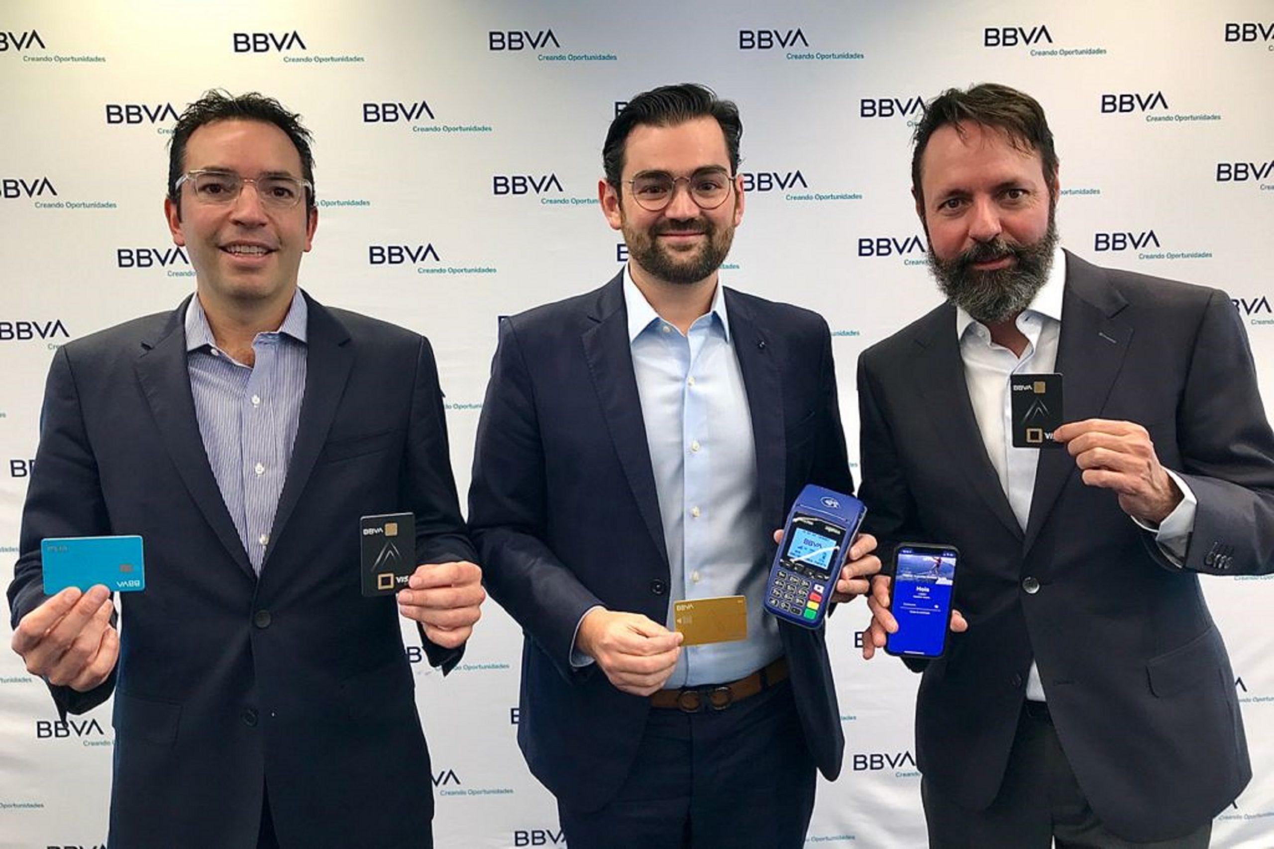 BBVA México, lanza una nueva generación de tarjetas de crédito y débito sin datos impresos, sustentables y con biometría