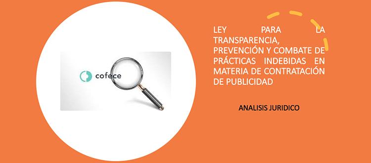 Aquí está nuestro gallo para la Ley de Transparencia