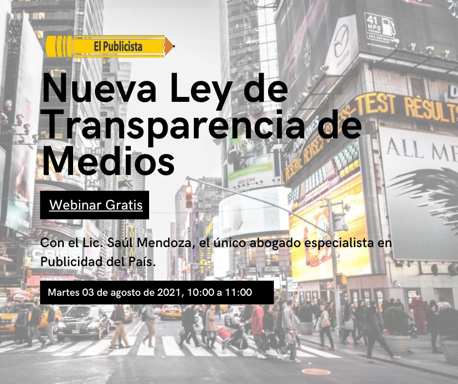 Para encarar la Ley de Transparencia hay que irse a los hechos: M&B Abogados es el ÚNICO despacho de abogados, en México, con especialización en publicidad.