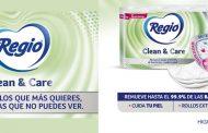Regio® presenta nuevo papel higiénico con tecnología BacteriaTrap, que remueve hasta el 99.9% de bacterias