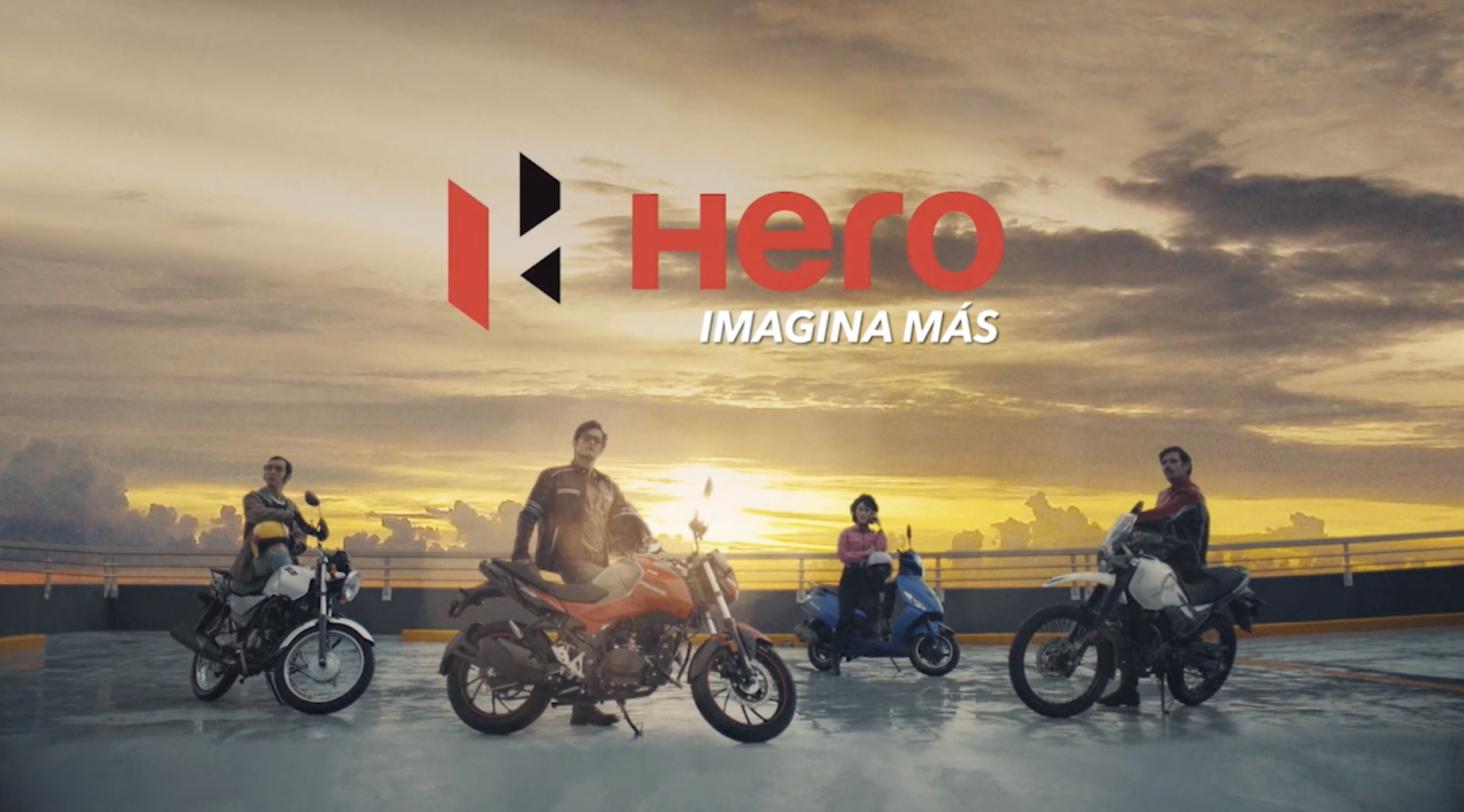 HERO llega a México y la agencia BOMBAY tiene a su cargo el lanzamiento